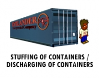 STUFFING OF CONTAINERS / DISCHARGING OF CONTAINERS
